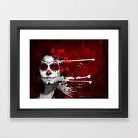 Pintura de los Muertos Framed Art Print