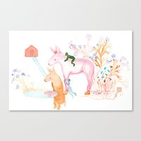April Dream Canvas Print