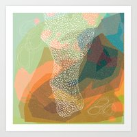 abstract 002. Art Print