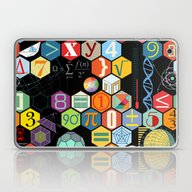 Math In Color Black B Laptop & iPad Skin