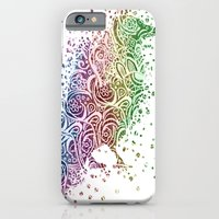 A Crow of Lace and Color iPhone 6 Slim Case