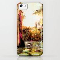 iPhone 5c Cases featuring Landscape by Felicia Atanasiu