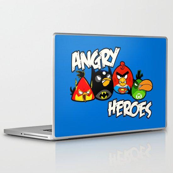 Angry Heroes Laptop & iPad Skin