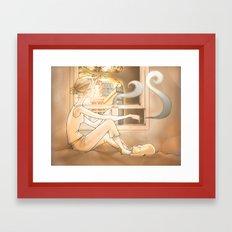 Sunrise Cityscape Framed Art Print