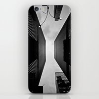 NYC Can Be Dizzying Some… iPhone & iPod Skin