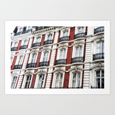 london red  Art Print