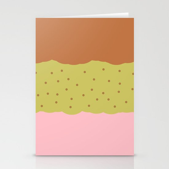 Spumoni  Stationery Card