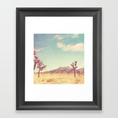 Joshua Tree Photograph. … Framed Art Print