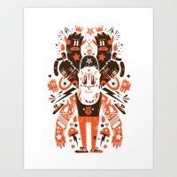 Newfren Monsters II Art Print
