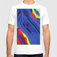The Scream Mens Fitted Tee White SMALL