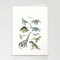 Dinosaurs Stationery Cards
