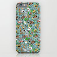 iPhone Cases featuring Adventure Supplies by Valeriya Volkova