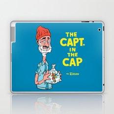 The Capt. In The Cap Laptop & iPad Skin