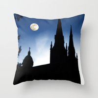 Church Faith Throw Pillow