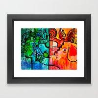 snout Framed Art Print