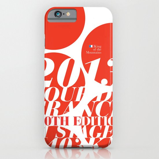 King of the Mountains: Tour de France 2013 iPhone & iPod Case