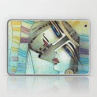LES MOTS BLEUS Laptop & iPad Skin