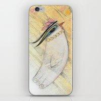 Blanche iPhone & iPod Skin