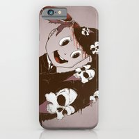 iPhone & iPod Case featuring Head Spill by Killer Napkins