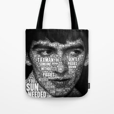 The Fab Four Songs - George Tote Bag