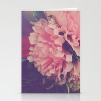 fresh pink Stationery Cards