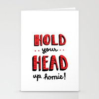 Head Up Stationery Cards