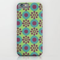 Retro Modern Flower Power iPhone 6 Slim Case