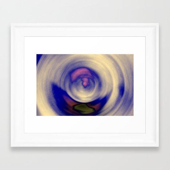 Ride - Vortex Framed Art Print