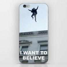 I Want to Believe in Sherlock Holmes iPhone & iPod Skin