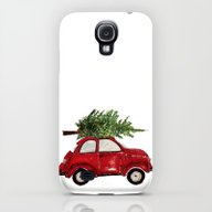 Red Christmas Beetle  Galaxy S4 Slim Case