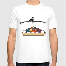 Pool Playa SMALL White Mens Fitted Tee