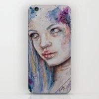 Blue Mermaid  iPhone & iPod Skin