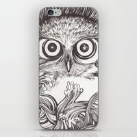 Vigilia iPhone & iPod Skin