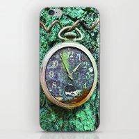 Green Time iPhone & iPod Skin