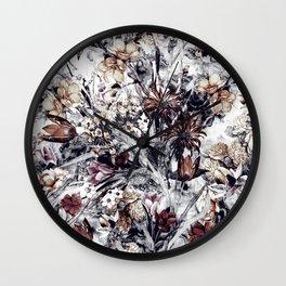 Wall Clock - Winter Garden - RIZA PEKER