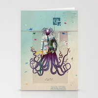 Mr Octapius Stationery Cards