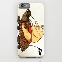 iPhone & iPod Case featuring Lazy Tarzan by Juan Weiss