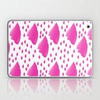 Purple Brushed Pattern Laptop & iPad Skin