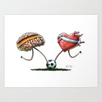 WORLD CUP FINAL 2014 Art Print