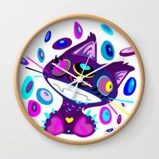 Psychocat Wall Clock