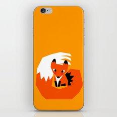 Red Fox iPhone & iPod Skin