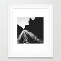 Railroad III Framed Art Print