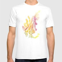 Winding Roots Mens Fitted Tee White SMALL