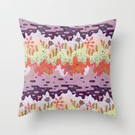 Throw Pillow featuring Crystal Forest by LordofMasks