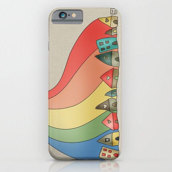 Rainbow {Weeeee} iPhone & iPod Case