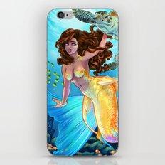Hawaiian Mermaid iPhone & iPod Skin