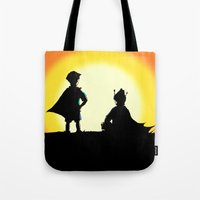 Super Best Friends Pen&Ink/Digital Tote Bag