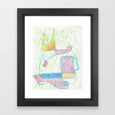 Hybrid 4 Framed Art Print