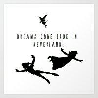 Dreams Come True In Neve… Art Print
