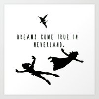 Dreams Come True In Neve… Art Print